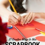 Easy Craft Ideas Using Scrapbook Paper