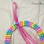 Easy Candy Heart Craft: Candy Heart Wreath