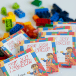 Printable Valentine's Cards: LEGO Movie Free Valentine's Day Printable
