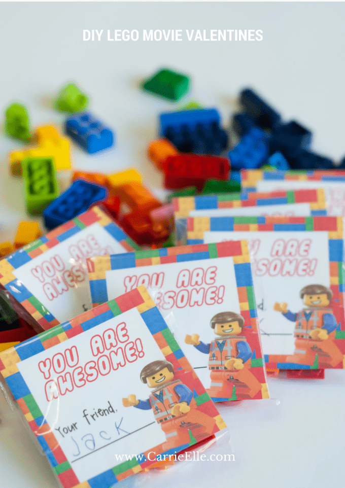 LEGO Movie Free Valentine's Day Printable