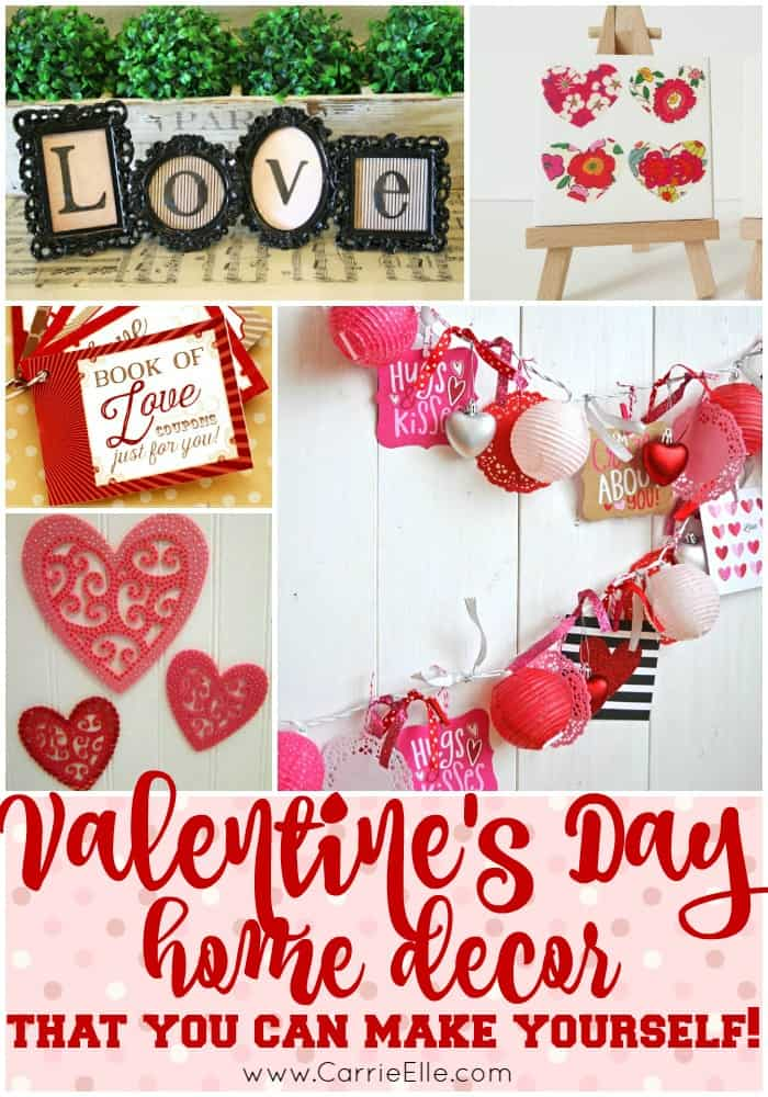 DIY Valentines Day Decor