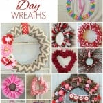 Easy DIY Valentine's Day Wreaths