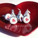 Valentine's Day Free Printable for Hershey's Kiss
