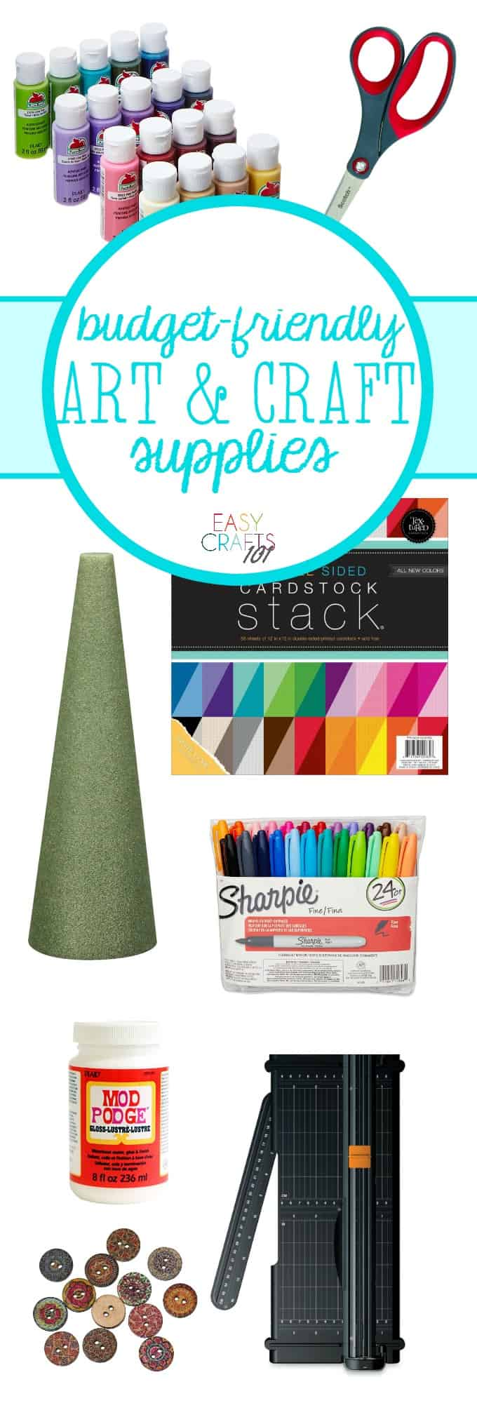 Budget-Friendly Art and Craft Supplies