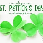 Easy DIY St. Patrick's Day Banners