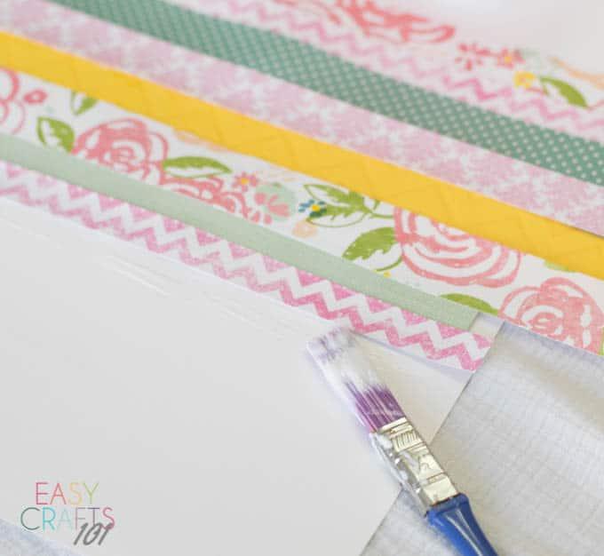 Scrapbook Paper Easter Egg Easy Craft Easy Crafts 101