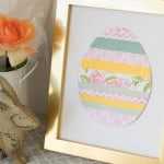 Scrapbook Paper Easter Egg Easy Craft