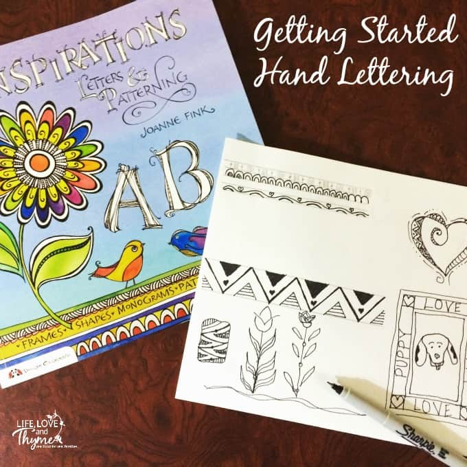 How to Get Started Hand Lettering