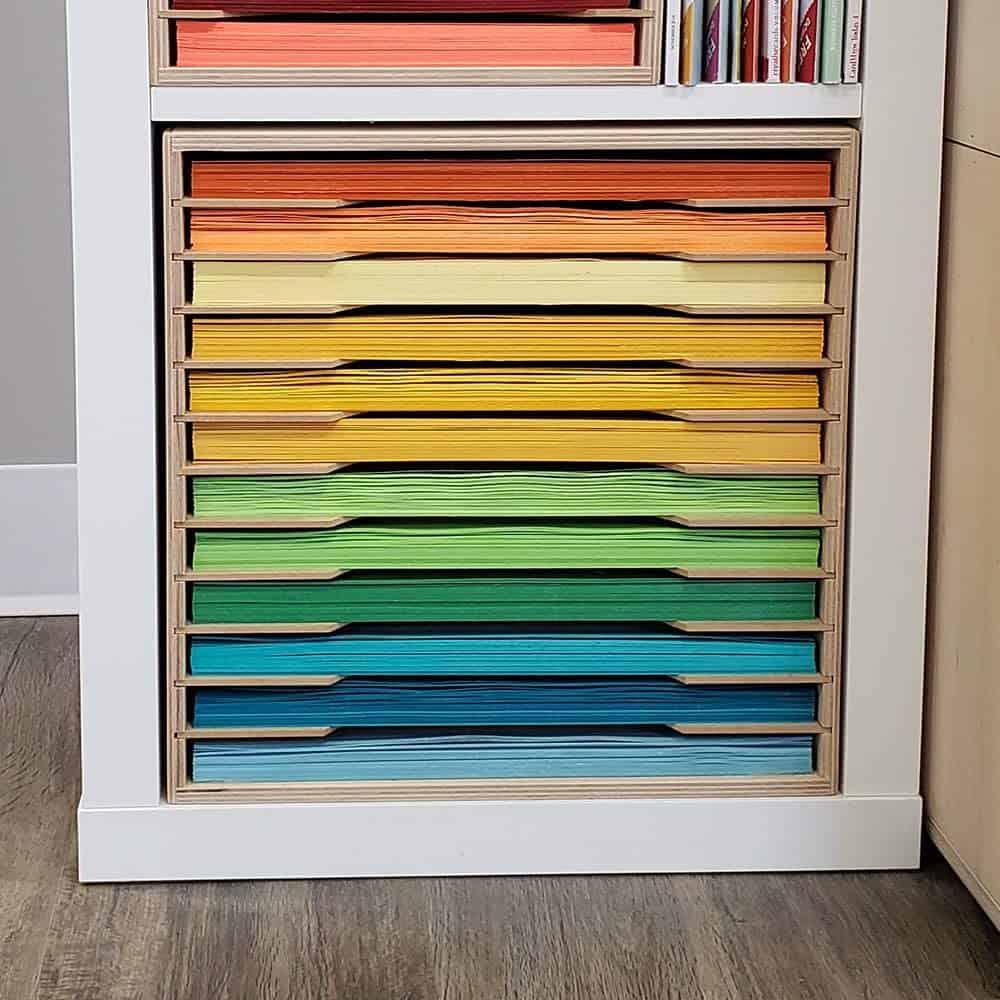 12x12 Paper Tower for IKEA Kallax Shelves