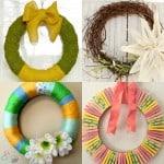 Easy DIY Spring Wreaths