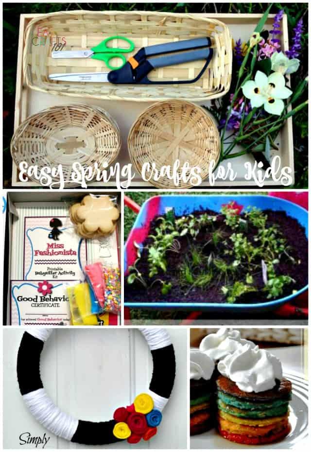 Easy Spring Crafts for Kids-2