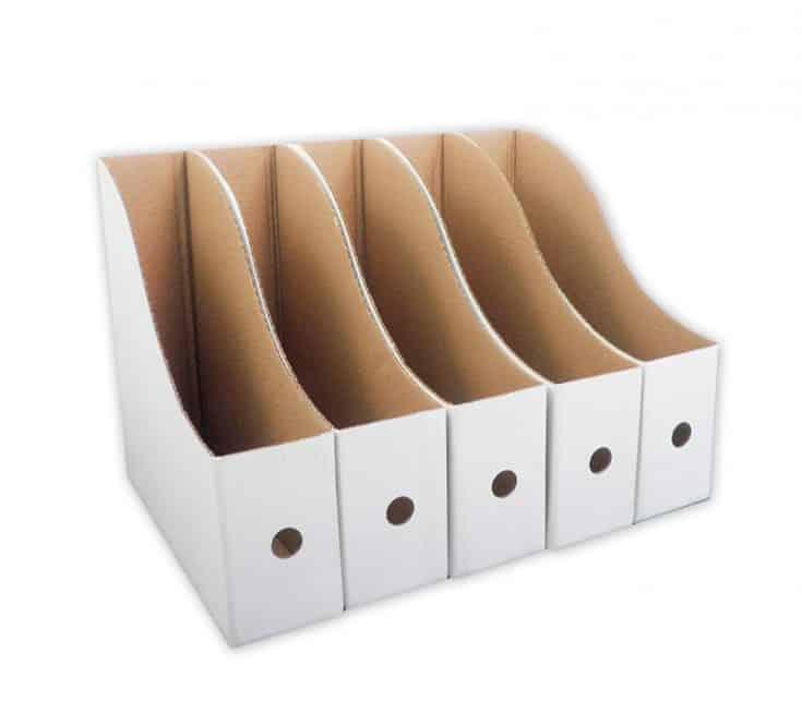ScrapRack Paper Storage Boxes 5 Pack