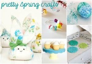 pretty spring craft ideas