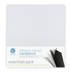 Silhouette Adhesive Cardstock