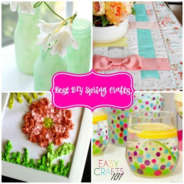 Best DIY Spring Crafts-text