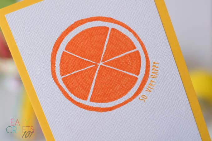 Easy Handmade Greeting Card