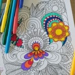 Free Printable Coloring Pages for Adults: Flower Coloring Page