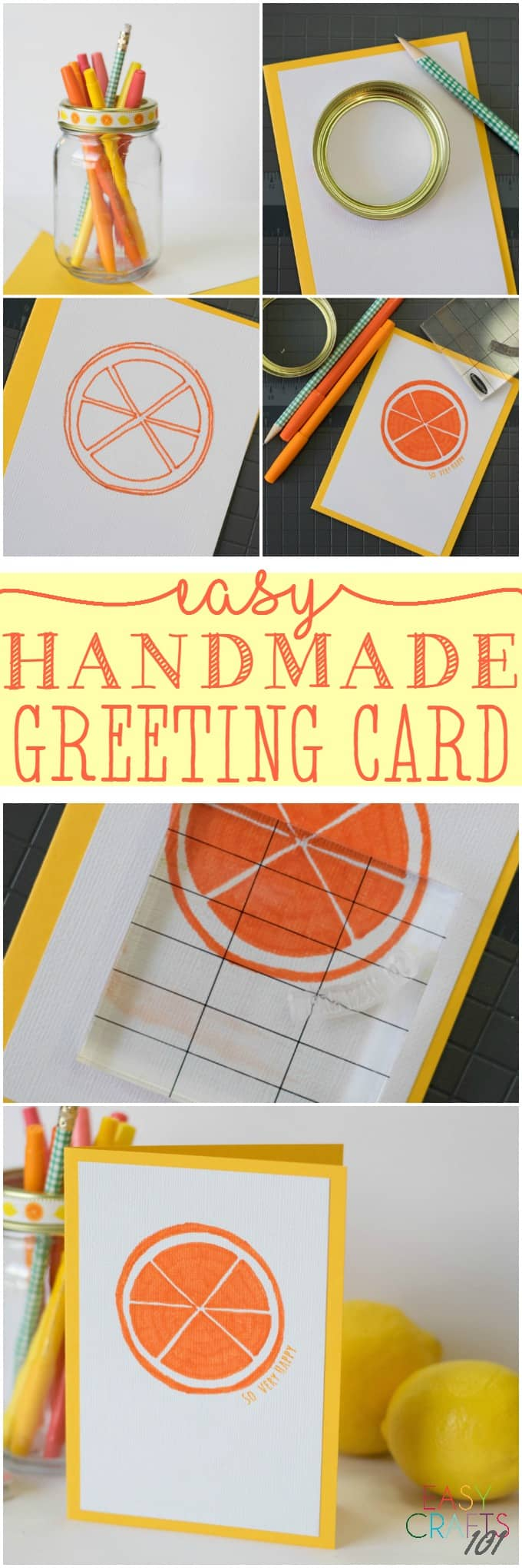 Easy Handmade Greeting Card