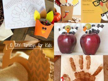 DIY Turkey Crafts for Kids