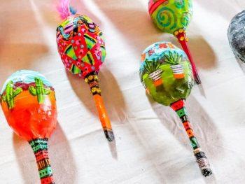 DIY Decorative Maracas
