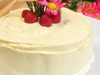 Mother's Day Rose Water Cake