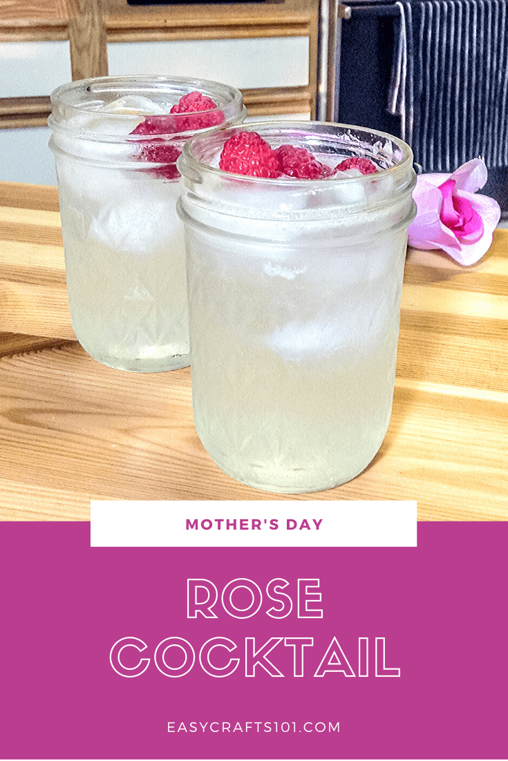 Mother's Day Rose Cocktail
