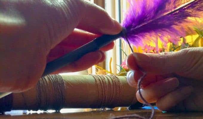 DIY Feather Pen