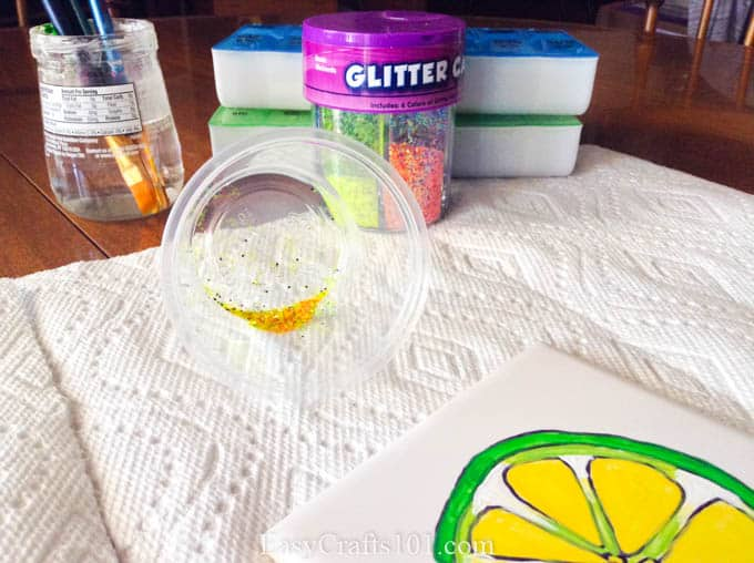 DIY Watermelon and Lime Coasters