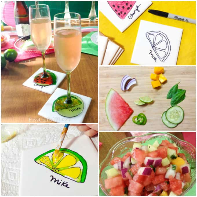 watermelon lime party