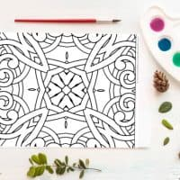 Friday Freebie: Coloring Page