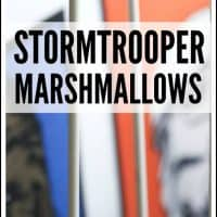 How To Make A Stormtrooper Marshmallow