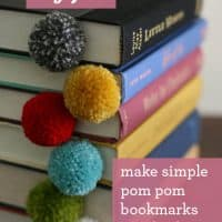 The Perfect Gift: Yarn Ball Pom Pom Bookmark