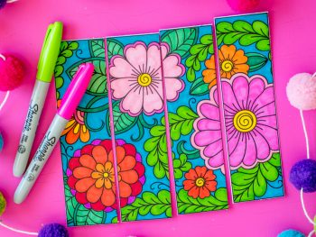 Printable Coloring Bookmarks EasyCrafts101