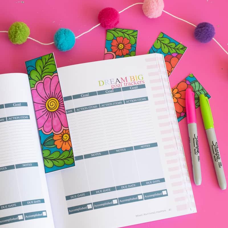 Printable Coloring Bookmarks EasyCrafts101